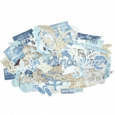 Kaisercraft Collectables Die Cuts Beach Shack, 55 pcs