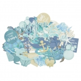 Kaisercraft Collectables Die Cuts Deep Sea, 40 pcs