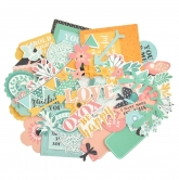 Kaisercraft Collectables Die Cuts Paisley Days