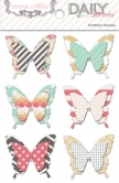 Daily Stories: Layered Sticker Butterflies