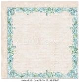 "Double-sided paper 12""*12"", Forget Me Not 05"