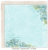 "Double-sided paper 12""*12"", Forget Me Not 06"