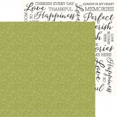Kaisercraft Designpapier double-sided Full bloom - Undergrowth