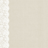 Designpapier - Kaisercraft - 30,5x30,5cm Two Souls Lace Trim