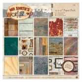 "Papierblock - Mr Smith's Workshop - 12"" x 12"" - 36 Blatt"