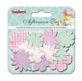 Papierblumen - Paper printed blossoms Afternoon Tea