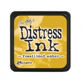 Tim Holtz distress ink mini - fossilized amber