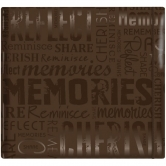 MBI Scrapbooking Album Memories Brown 30,5x30,5