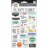 Me & My Big Ideas - Create 365 The Happy Planner - Sticker - Fitness