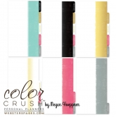 Planner A6 - Webster´s Pages - Color Crush - Personal Planner Divider